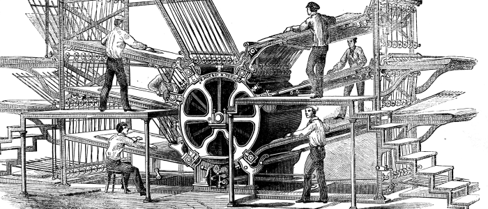 The Beginnings of Printing Press and Its Evolution