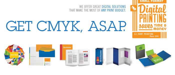 Digital print - for small and very small print circulation