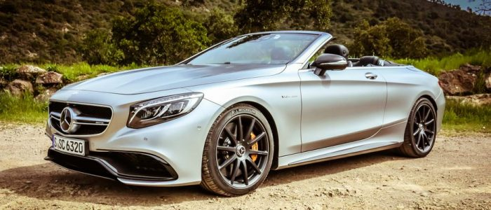 The new Mercedes S-Class S63 4MATIC, a 577 horsepower convertible